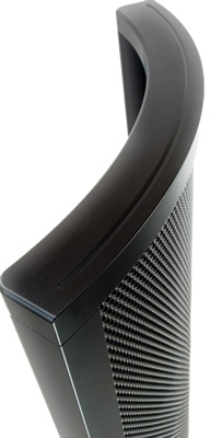 MartinLogan CLS (Curvilinear Line Source) electrostatic transducer.