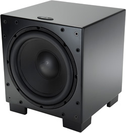 Dynamo 1000 subwoofer without grill.