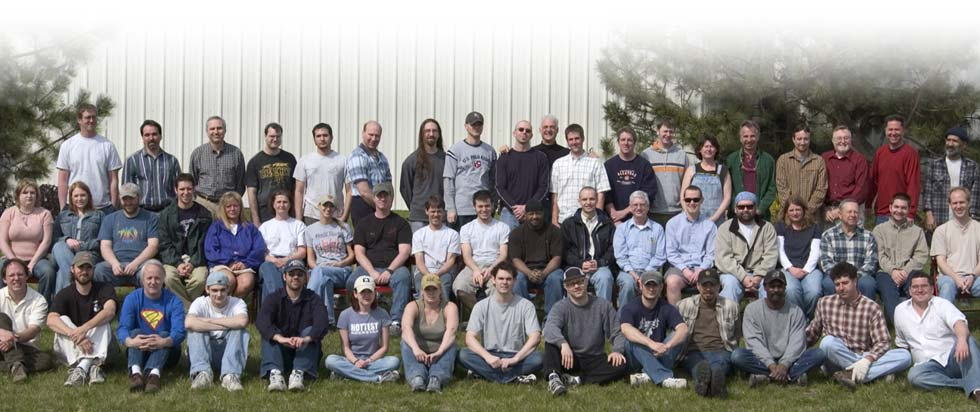 The MartinLogan team circa 2005.