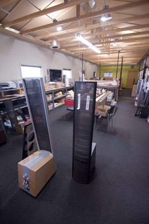 The MartinLogan design center.