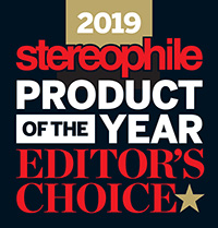 2019 Stereophile Product of the Year Editor's Choice Award